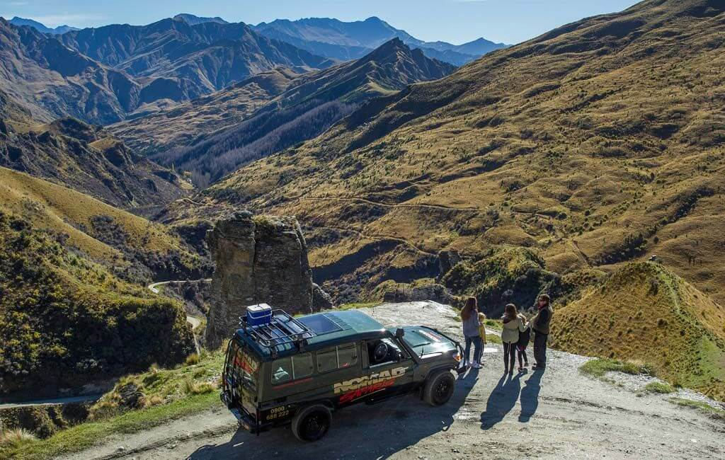 A Nomad Safaris 4WD in Queenstown